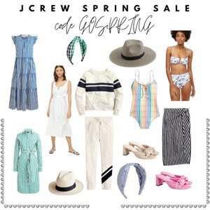 Spring sale, spring styles,  Jcrew , Dresses, accessories